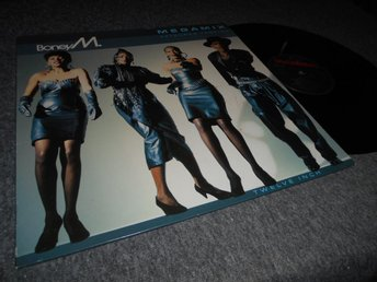 Boney M - Megamix Extended Version (12a) EX/VG+