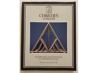 Auktionskatalog Christies London 28 september 1988