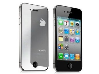 Spegeldisplayskydd iPhone 4,4s Screen Guard Protector Mirror