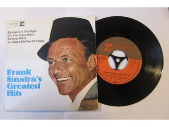 Frank Sinatra Greatest Hits EP  1966 / Strangers In The Night-Summer Wind+2