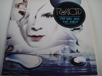 RÖYKSOPP / ROBYN Girl and the robot PROMO CD SINGEL TOPPSKICK!!!