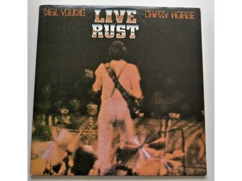 NEIL YOUNG AND CRAZY HORSE LIVE RUST 2xLP US Press