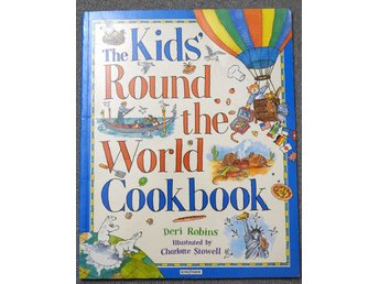 The Kids Round-the-World Cookbook av Deri Robins Häftad bok. Kingfisher Books