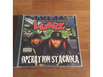 LUNIZ - OPERATION STACKOLA. (CD)