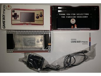 Gameboy Advance GBA Micro Famicom Edition