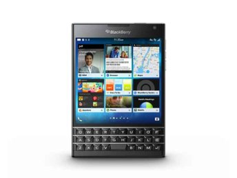BlackBerry Passport 4,5 Zoll enda SIM 32GB svart