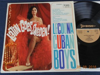 LECUONA CUBAN BOYS - Latin goes Sweden, Scan-Disc SCLP 112, 60-tal