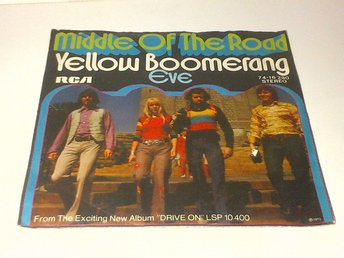 Middle Of The Road - Yellow Boomerang / Eve, vinyl EP