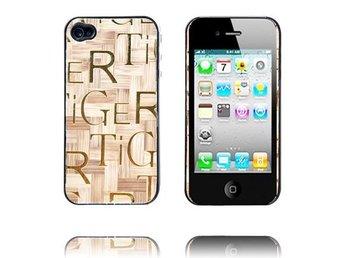 Wood Pattern (Ljusbrun) iPhone 4 Skal - Malmö - Wood Pattern (Ljusbrun) iPhone 4 Skal - Malmö