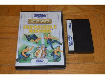 Impossible Mission - Sega Master System