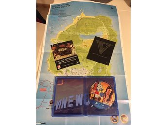 GTA V med karta spel ps4 - Vårby - GTA V med karta spel ps4 - Vårby