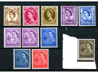 GB Guernsey/Jersey, Lot Elisabeth II postfriskt - Uppsala - GB Guernsey/Jersey, Lot Elisabeth II postfriskt - Uppsala