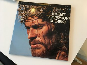 The Last Temptation Of Christ - Criterion Collection - Laserdisc