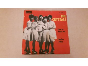 The Crystals - Then He Kissed Me (Endast Omslag)