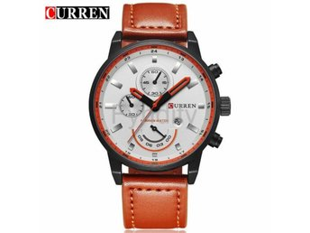 Quartz Watch Men's Orange