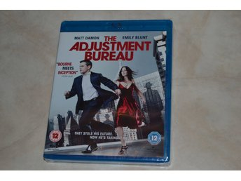 The Adjustment Bureau (2011) Film Bluray Nyskick
