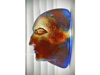 Javascript är inaktiverat. - Malmö - Då jag inte kunnat svara frågeställaren via mail så vill jag bara förtydliga att alla bilder är tagna på det aktuella ansiktet i annonsen! Häftig väggprofil i form av ett mansansikte formgiven av Kjell Engman för Kosta Boda. Denna skulp - Malmö