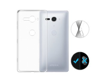 Genomskinligt mobilskal Sony Xperia XZ2 Compact
