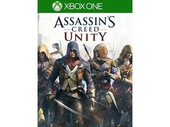 Javascript är inaktiverat. - Vällingby - Assassins Creed Unity - XBOX ONE Leverans: Snabb leverans utlovas! Värdebevis för Xbox Store som är giltig i utbyte mot ett komplett ordinarie spel vid köp av Assassins Creed Unity på Xbox One Store. Leverans: 1-6 timmar - Oftast Omgåen - Vällingby