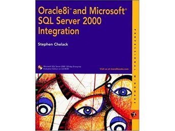 Oracle8i and Microsoft SQL Server 2000 Integration, med 3 st DVD