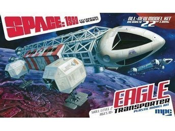 SPACE 1999 EAGLE TRANSPORTER            MPC 1/48 BYGGSATS