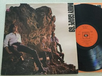 Lp Moby grape-'69 rare Uk mono org på CBS