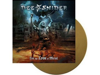 Dee Snider ‎–For The Love Of Metal lp ltd 300 Twisted Sister