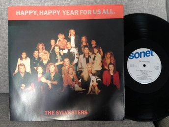 THE SYLVESTERS MAXI HAPPY HAPPY . BOBBERS JERRY LILLI SUSIE MM