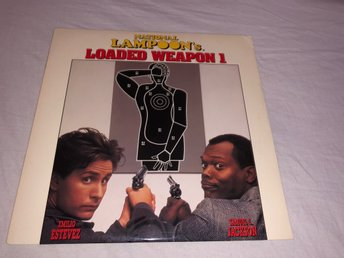 National Lampoon's Loaded Weapon 1  - 1st Laserdisc