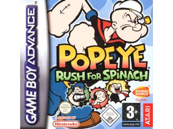 Popeye: Rush For Spinach - Gameboy Advance