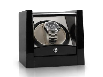 Klarstein 8PT1S watch winder 1 Uhr svart pianolack