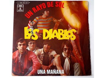 """Los Diablos / Un Rayo Del Sol 7"""" 1970 - Enskede - Los Diablos / Un Rayo Del Sol 7"""" 1970 - Enskede"""