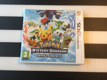Pokémon Mystery Dungeon Gates To Infinity 3DS