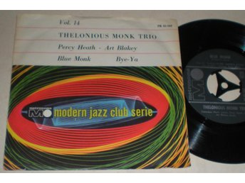 Thelonious Monk 45/PS Blue monk VG++