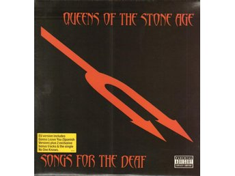 QUEENS OF THE STONE AGE - SONGS FOR THE DEAF (RED,EU VERSION, BONUS TRACKS) 2xLP
