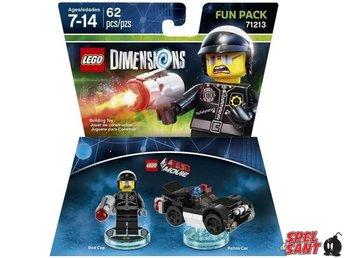 Lego Dimensions The Lego Movie Bad Cop Fun Pack 71213
