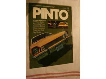 PETERENS COMPLETE BOOK OF. PINTO FORD. 1975