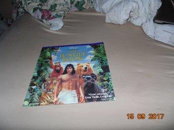 The jungle book - Widescreen laserdisc - Walt Disney 1st Laserdisc - Forshaga - The jungle book - Widescreen laserdisc - Walt Disney 1st Laserdisc - Forshaga