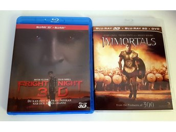 Fright Night & Immortals (Blu-ray 3D)