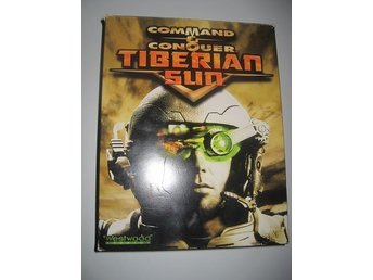 Command & Conquer Tiberian Sun Pc Big box
