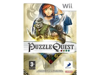 Puzzle Quest - Challenge of the Warlords Nintendo Wii