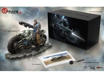 Gears of War 4 Collectors Edition Xbox One - Ny/ Oöppnad!