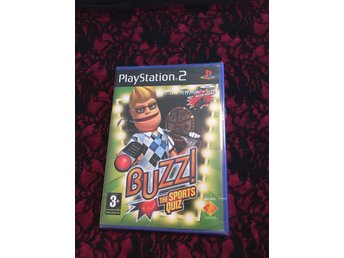 Buzz!: The Sports Quiz PS2 Komplett inplastat!