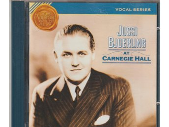 Jussi Björling at Carnegie Hall