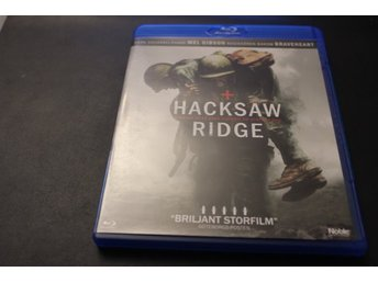 Bluray-film: Hacksaw Ridge (Mel Gibson)