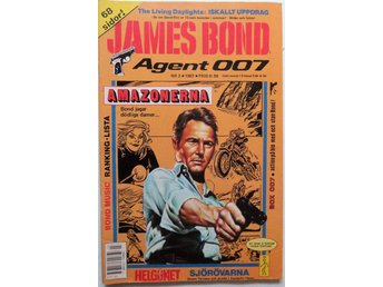 James Bond agent 007 nr 3 1987 fint skick