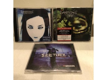 "3st CD &  1st live-DVD: Evanescence ""Anywhere but home"" Amy Lee, Seether, Fallen"