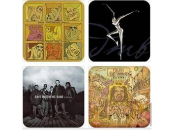 DAVE MATTHEWS BAND COASTERS - Set of 4