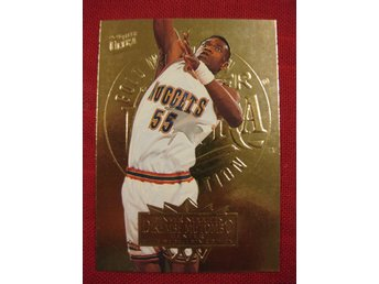 DIKEMBE MUTOMBO - FLEER ULTRA 1995-96 GOLD MEDALLION - BASKET