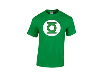 GREEN LANTERN LOGO GREEN MEN T-SHIRT DC COMICS - Small